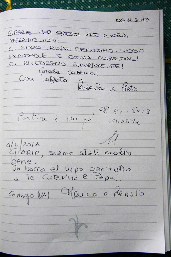Libro degli ospiti palazzo filagni for Libro degli ospiti