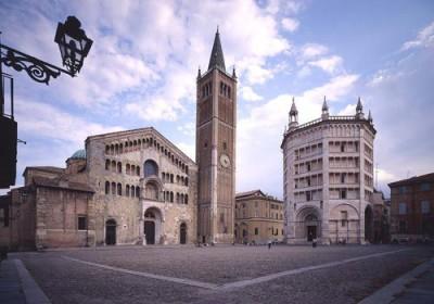 Le Dôme et le Baptistère de Parma
